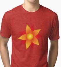 Firery Pinwheel Tri-blend T-Shirt