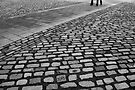 Path through the cobblestones by Esther  Moliné