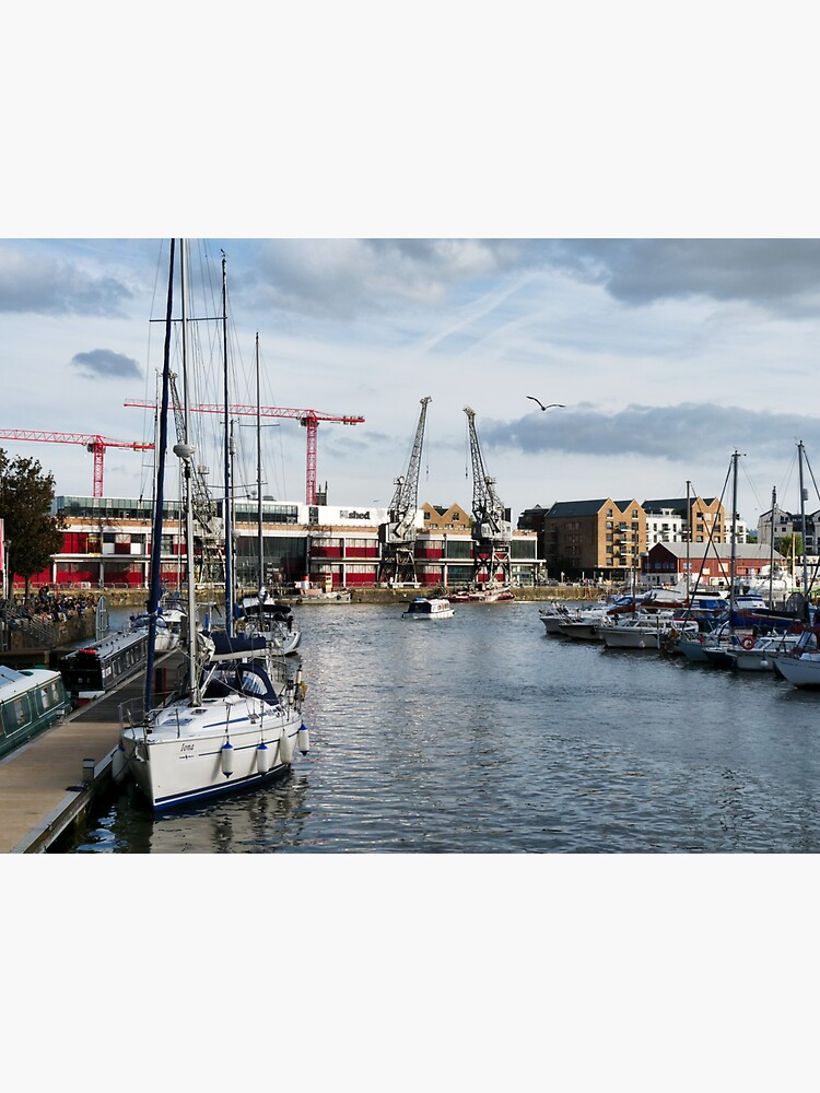 Boats at Bristol Harbour, England by santoshputhran