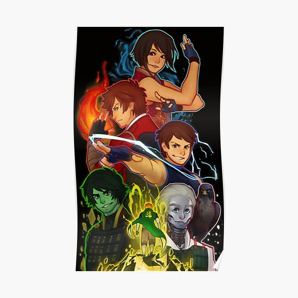 Ninjago 5th Anniversary Poster