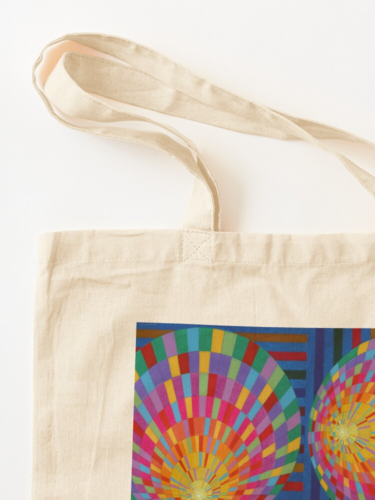 Alternate view of Circle, 2D shape Tote Bag
