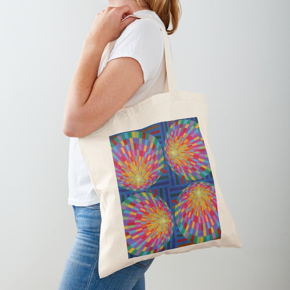 Circle, 2D shape Tote Bag