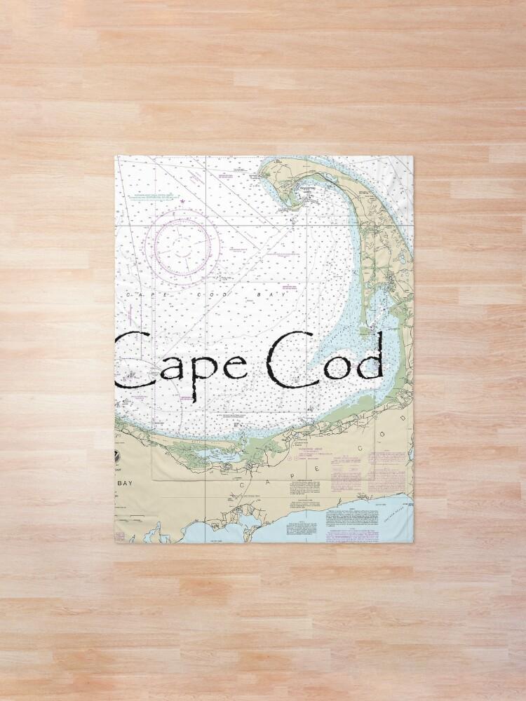 Cape Cod Nautical Chart Unique Custom Nautical Chart Cape Cod