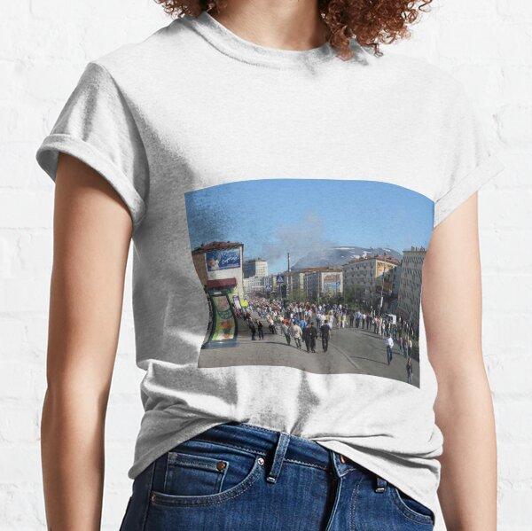 Город Норильск - Норильлаг. Norilsk City - Norillag #Город #Норильск #Норильлаг #Norilsk #City #Norillag #dictatorship #Антидиктатура Classic T-Shirt