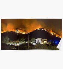 Ibiza Burning Poster