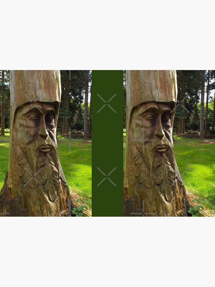Tree Trunk Man by MikeHawkinWorld