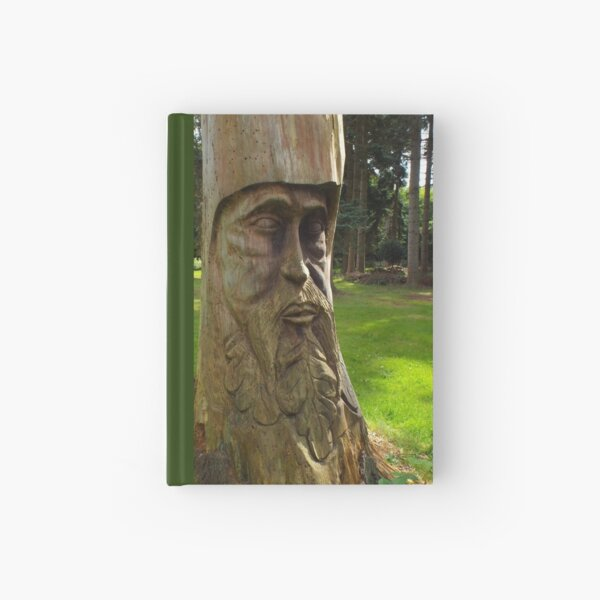 Tree Trunk Man Hardcover Journal