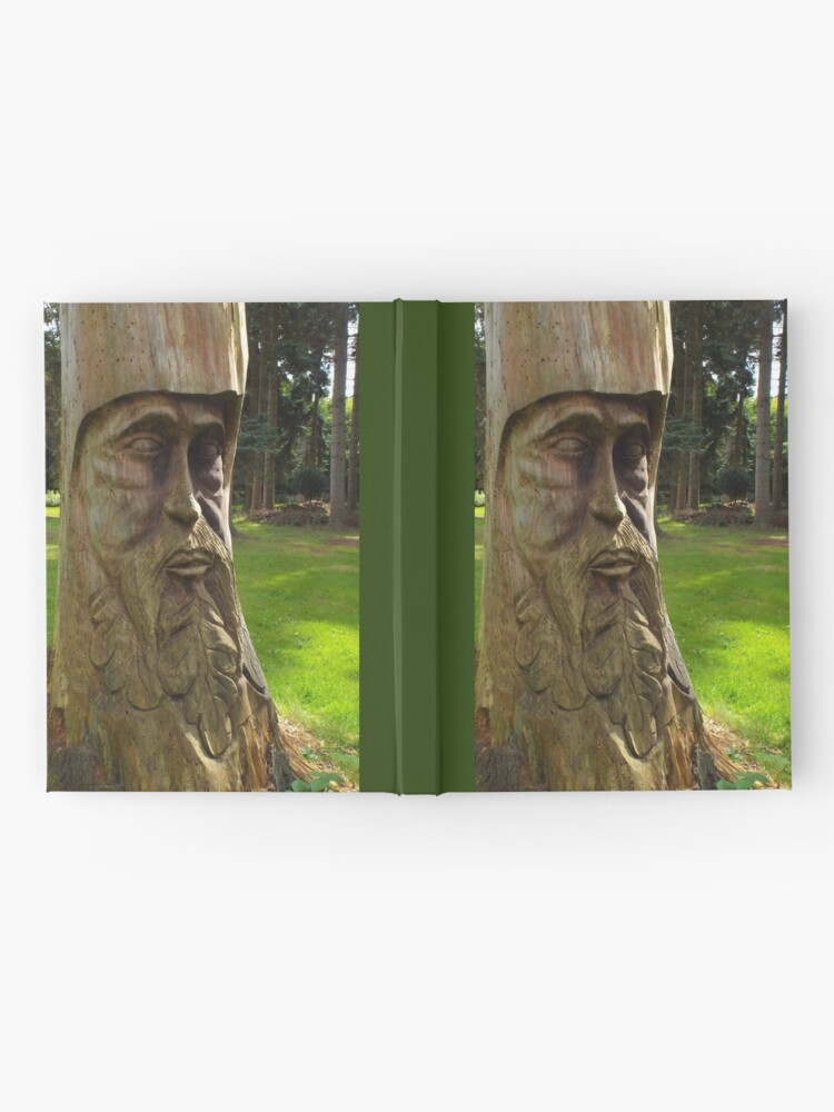 Alternate view of Tree Trunk Man Hardcover Journal