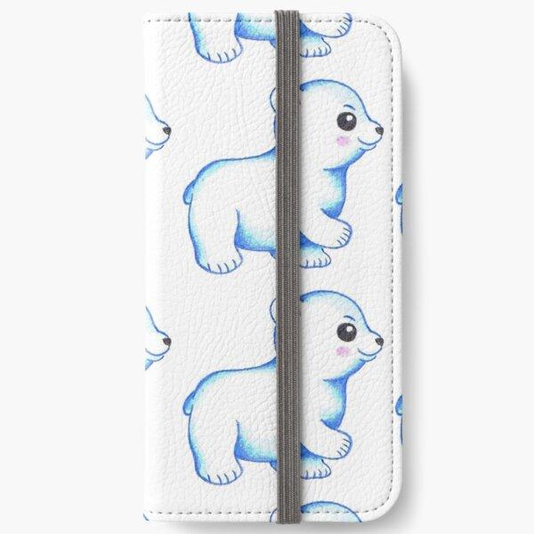 cartoon baby polarbear iPhone Wallet