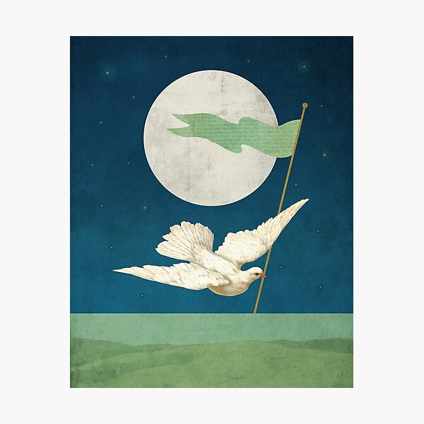 Moon Messenger Photographic Print