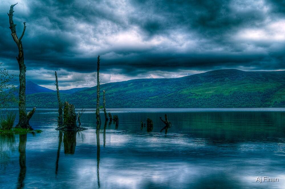 Loch Rannoch Reflections by Aj Finan