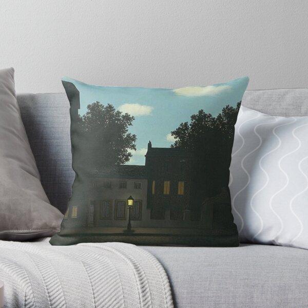 Empire of light - Rene Magritte Throw Pillow