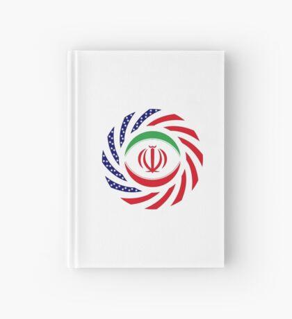 Iranian American Multinational Patriot Flag Series Hardcover Journal