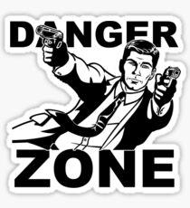 Archer Danger Zone FX TV Funny Cartoon Cotton Blend Adult T Shirt Sticker
