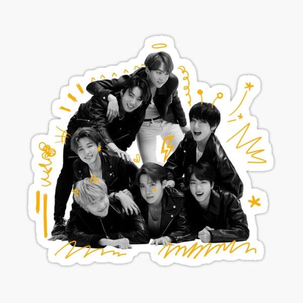 BTS MAP OF THE SOUL: 7 VERSION 4 // GROUP OT7 Sticker