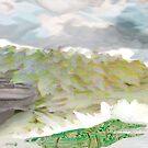 Crystal Landscape by Jordan Selha