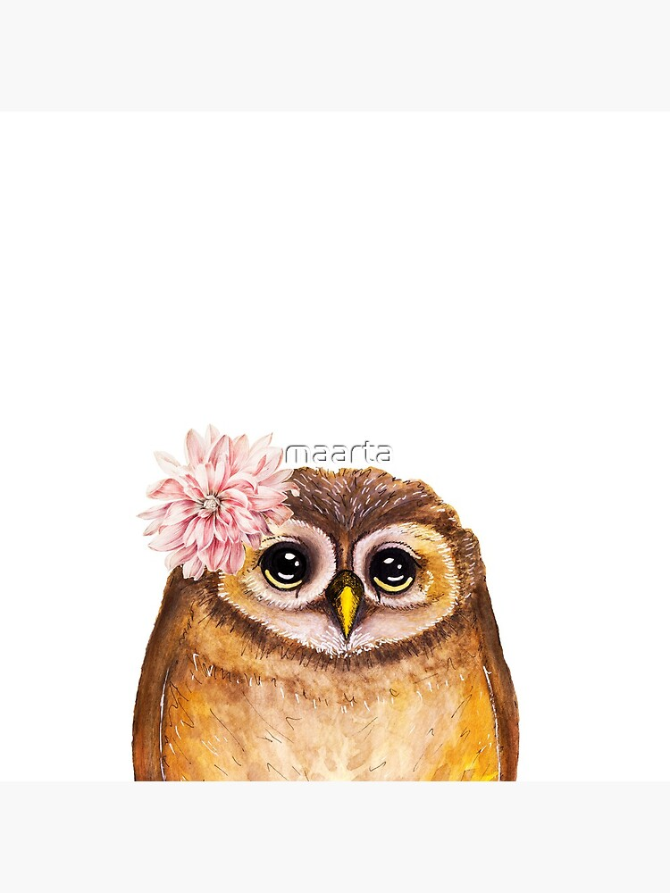 Rosalie, the Baby Owl by maarta