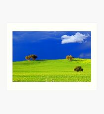 Green Acres  Art Print