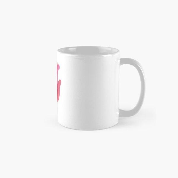 Watercolor Tulip transparencies Classic Mug