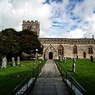 Uplyme Village Church. Devon UK by lynn carter
