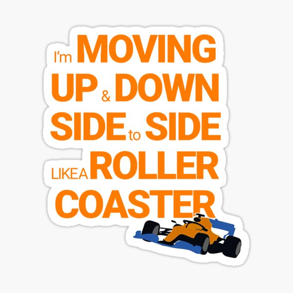 Lando Norris - Pilote de course de cadeau de fan de sport automobile Sticker