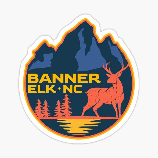 Banner Elk, NC Adventure Badge Sticker