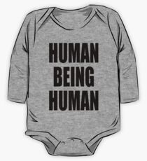 Human Being Human One Piece - Long Sleeve