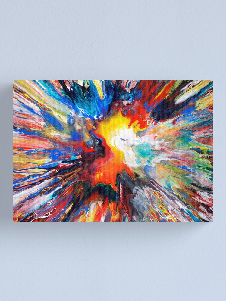 ABSTRACT SWIRL CANVAS PRINT PICTURE WALL ART FREE FAST UK DELIVERY