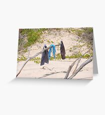 Byron Bay Clothesline Greeting Card