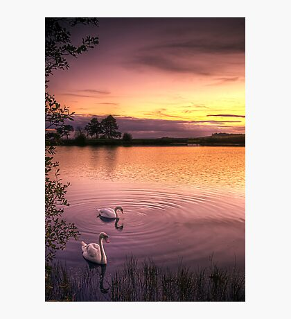 Sunset Ripples Photographic Print