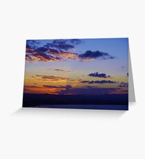 Cape Byron Sunset Greeting Card