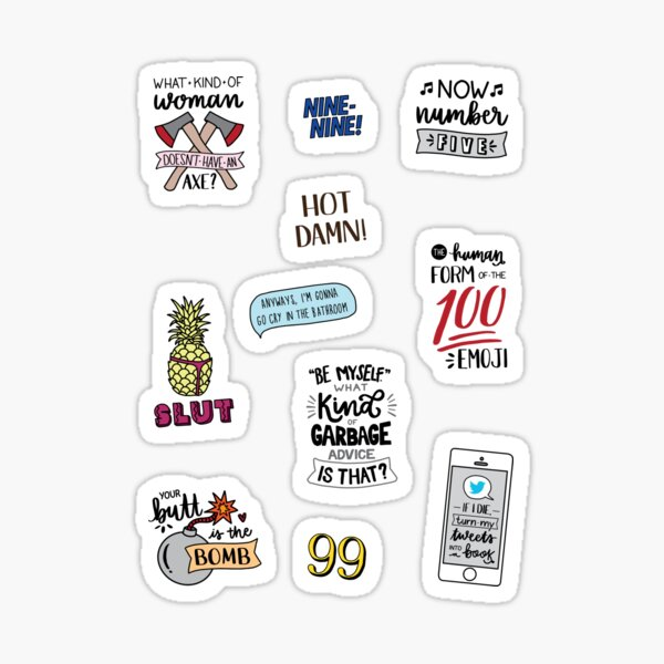 Brooklyn Nine Nine | Version 2 | TV Show Art Sticker
