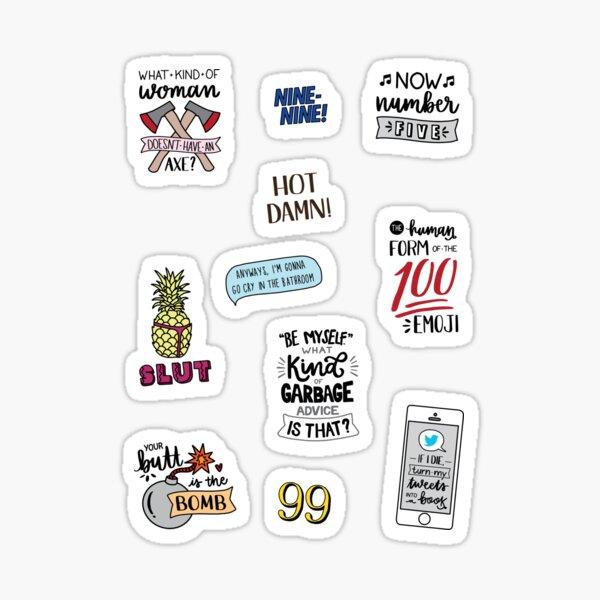 Brooklyn Nine Nine | Version 2 | Art de l'émission de télévision Sticker