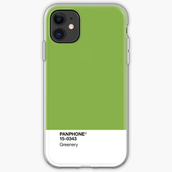 PANPHONE - Greenery iPhone Soft Case