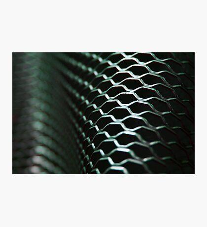 Steel Surf (Mesh'n Around) Photographic Print