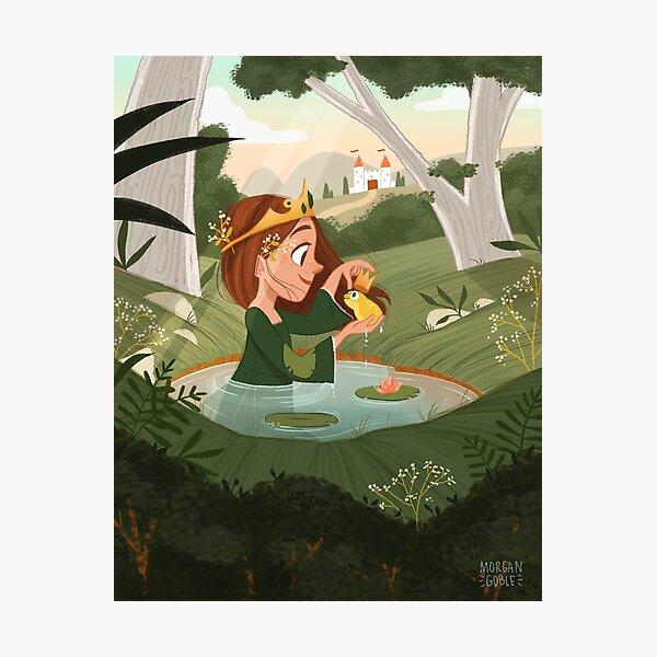 Frog Princess Photographic Print