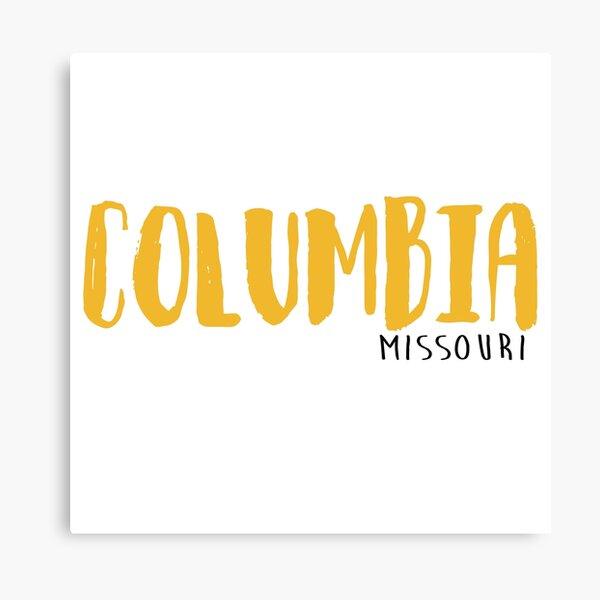 Columbia Missouri  Canvas Print