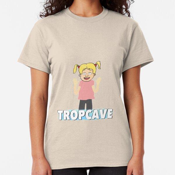 La petite fille T-shirt classique