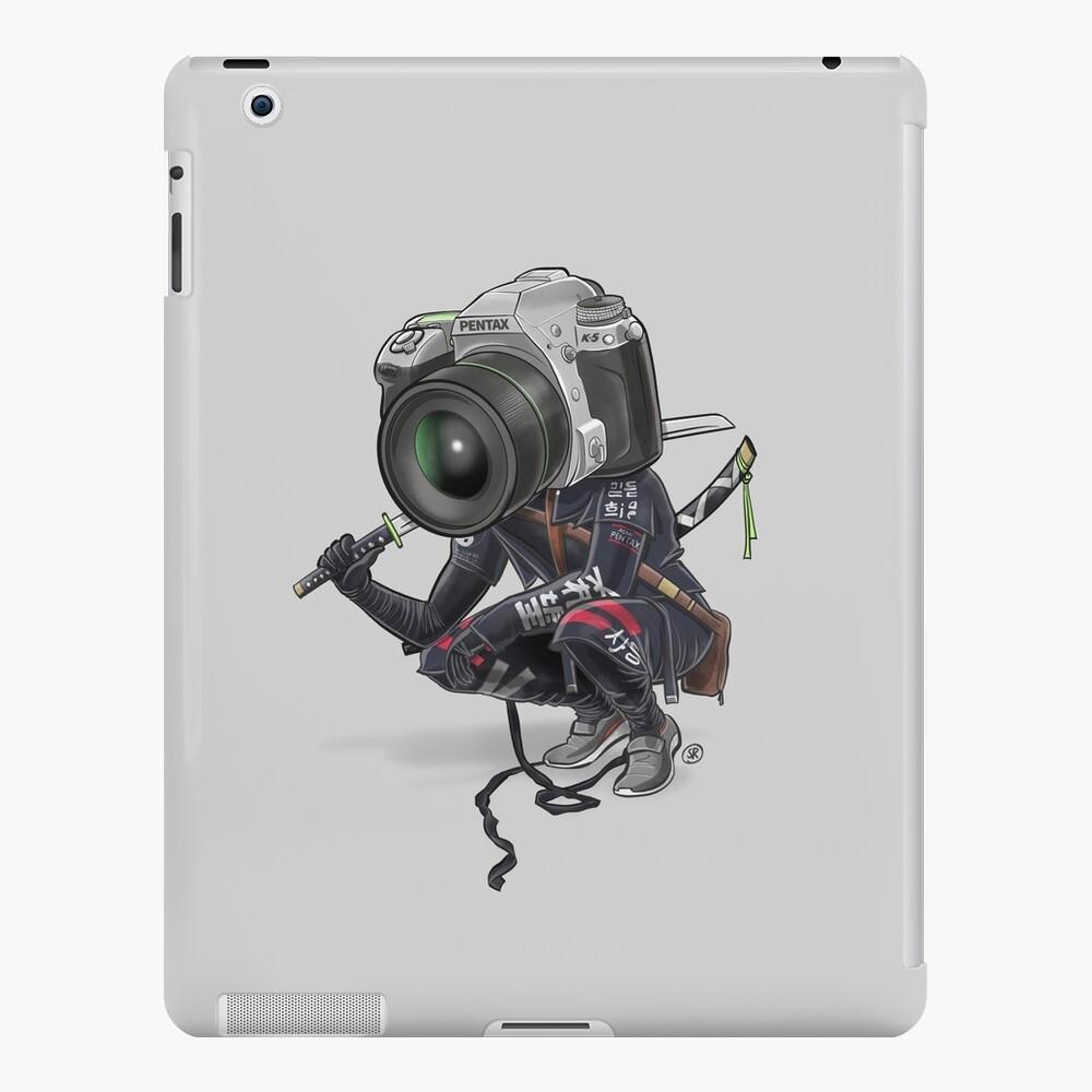 Pentax K5 Silver Samurai Funda y vinilo para iPad