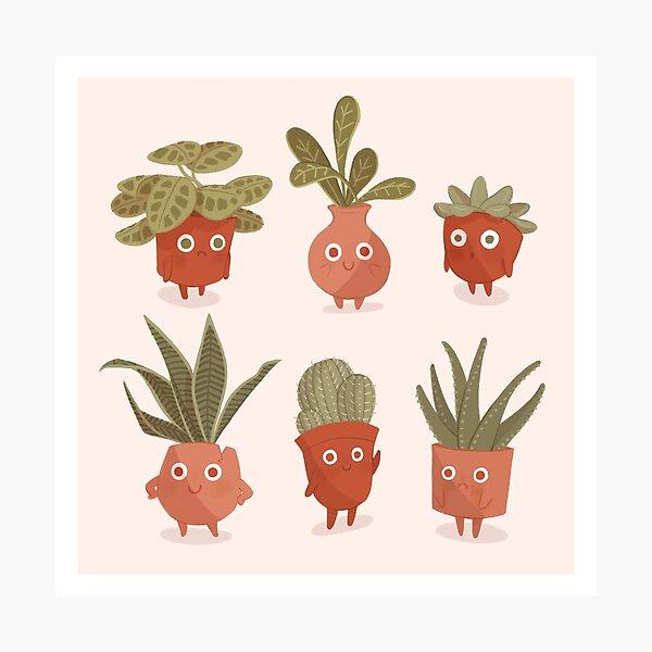 Literal Plant Babies Photographic Print