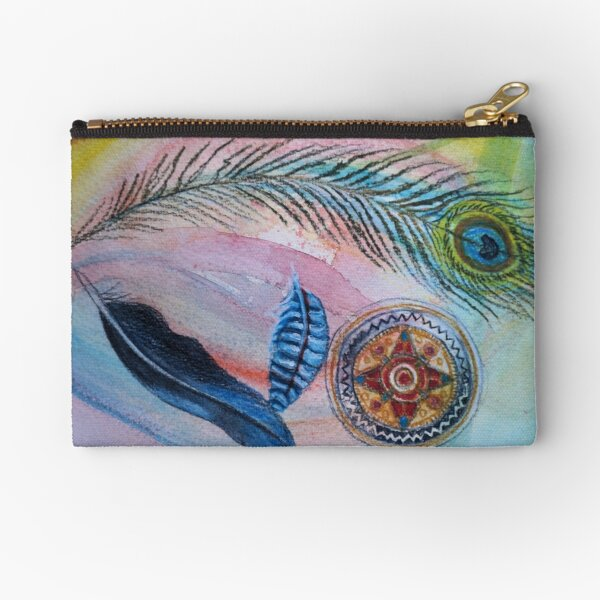 Jewelled Things Zipper Pouch