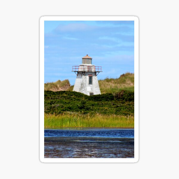 St. Peter's Harbour Lighthouse Sticker