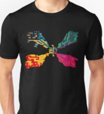 3D geometrics Unisex T-Shirt
