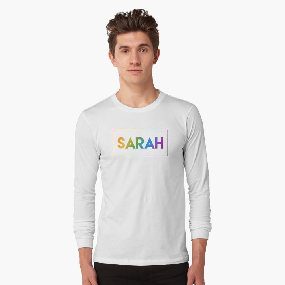 Sarah - Pride Edition Long Sleeve T-Shirt