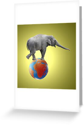 Shrinking Africa by Gwoeii
