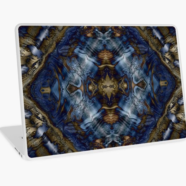Wood and Water Laptop Skin