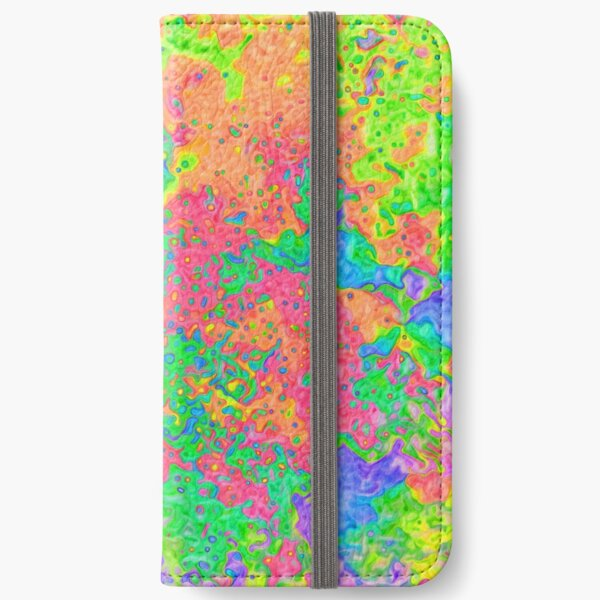 Abstract pattern iPhone Wallet