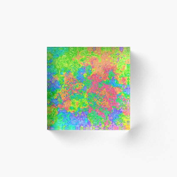 Abstract pattern Acrylic Block