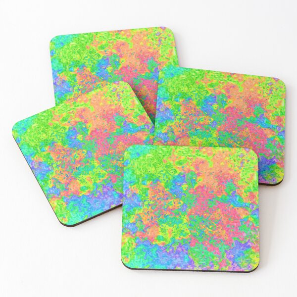 Abstract pattern Coasters (Set of 4)