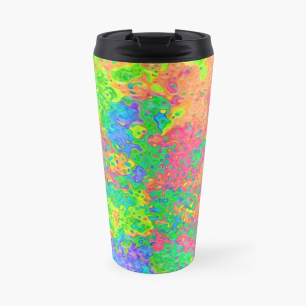 Abstract pattern Travel Mug